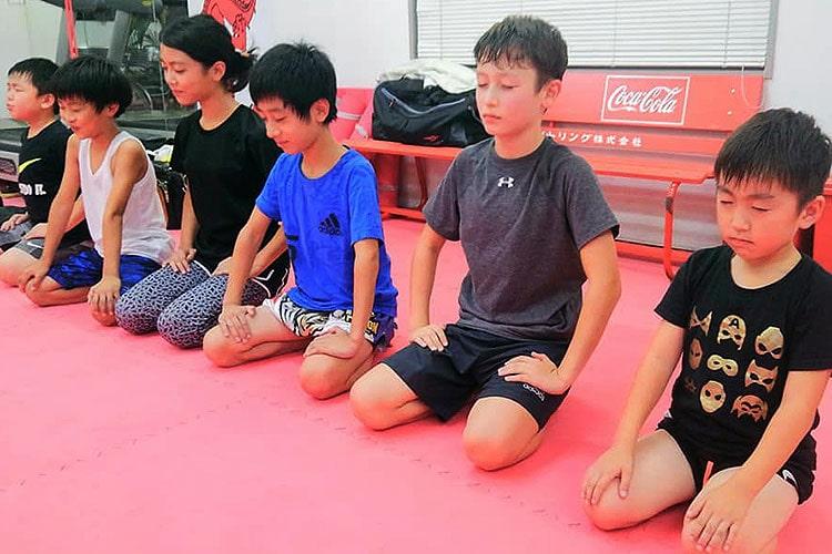 仙台のムエタイ・キックボクシング キッズコース