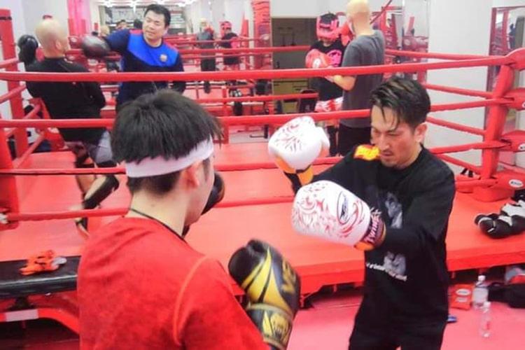 仙台のムエタイ・キックボクシング スパーリングコース
